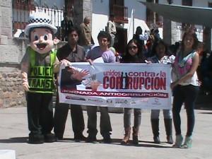 Jornada Anticorrupción en Cajamarca