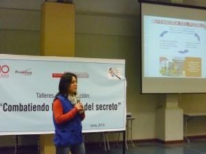 """Lima Sur: Talleres Anticorrupción """"Combatiendo la cultura del secreto"""""""