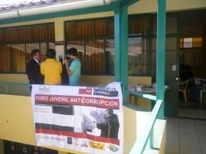 II Foro Anticorrupción en Cajamarca.