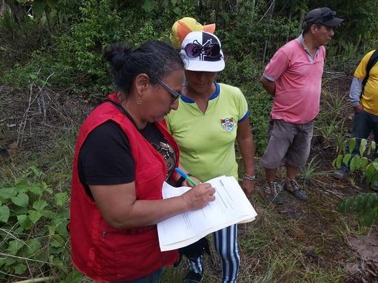 Actividades de la Red Forestal Anticorrupción Loreto