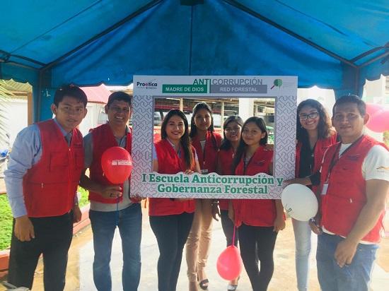 Equipo de la Red Forestal Anticorrupción