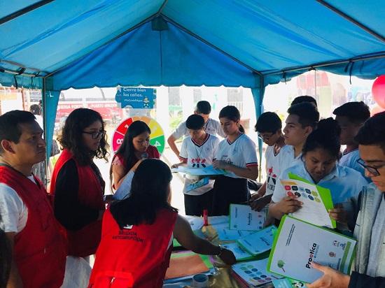 Actividades con estudiantes